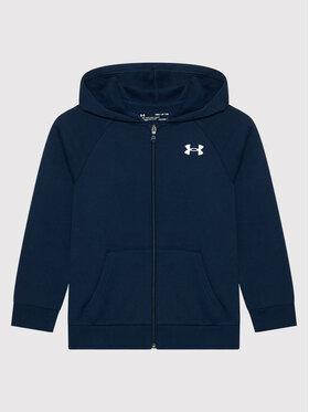 Under Armour Under Armour Sweatshirt Ua Rival Cotton Full Zip 1357613 Bleu marine Loose Fit