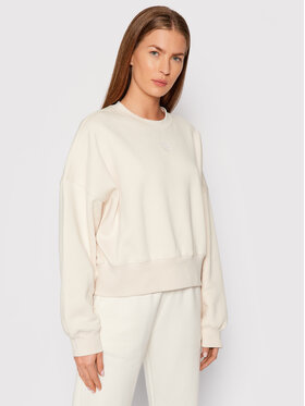 adidas adidas Bluza adicolor Essentials H40022 Beżowy Relaxed Fit