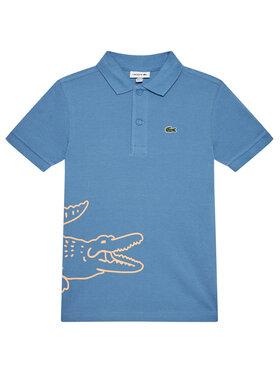 Lacoste Lacoste Тениска с яка и копчета PJ1462 Син