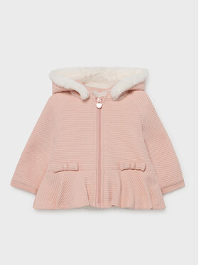 Mayoral Mayoral Cappotto 2495 Rosa Regular Fit