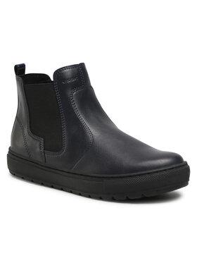 Geox Geox Členková obuv s elastickým prvkom D Breeda A D042QA 05402 C4174 Tmavomodrá