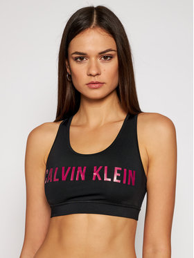 Calvin Klein Performance Calvin Klein Performance Biustonosz top Medium Support 00GWF0K157 Czarny