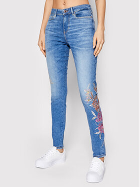 Guess Guess Jeans 1981 W1RA46 D4AO2 Blu Skinny Fit