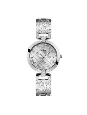 Guess Guess Zegarek G Luxe W1228L1 Srebrny