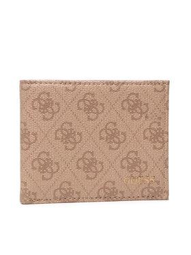 Guess Guess Veľká pánska peňaženka Vezzola (4G Logo Basique) Slg SMVEZL LEA20 Béžová