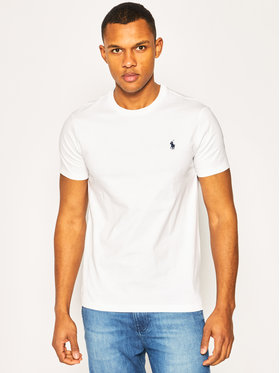 Polo Ralph Lauren Polo Ralph Lauren T-Shirt Bsr 710680785 Bílá Custom Slim Fit