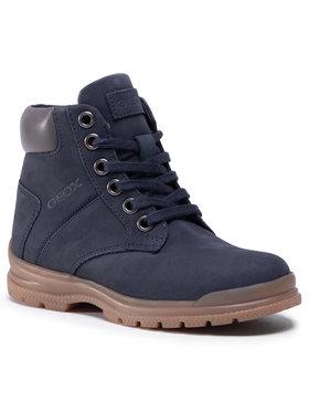 Geox Geox Auliniai batai J Navado B. A J045HA 032TU C0718 S Tamsiai mėlyna