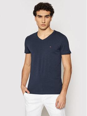 Tommy Hilfiger Tommy Hilfiger T-shirt MW0MW02045 Blu scuro Slim Fit