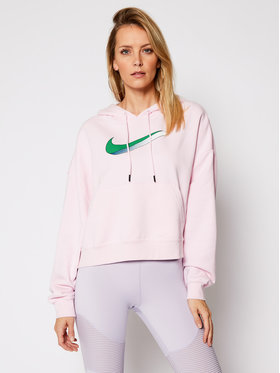Nike Nike Majica dugih rukava Sportswear CU5108 Ružičasta Oversize