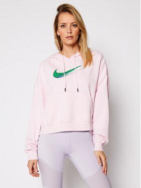 NIKE NIKE Mikina Sportswear CU5108 Ružová Oversize