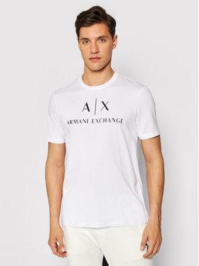 Armani Exchange Armani Exchange T-shirt 8NZTCJ Z8H4Z 1100 Bianco Slim Fit