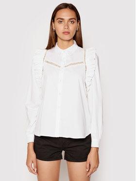 Rinascimento Rinascimento Koszula CFC0102962003 Biały Regular Fit