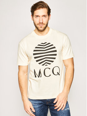 MCQ Alexander McQueen MCQ Alexander McQueen T-shirt 291571 ROT37 9089 Arancione Regular Fit