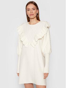 Silvian Heach Silvian Heach Трикотажне плаття Rigel PGA21672VE Білий Regular FIt