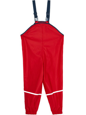 Playshoes Playshoes Панталони за дъжд 405424 D Червен Regular Fit