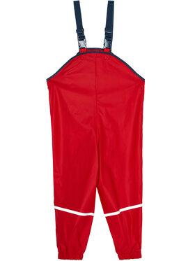 Playshoes Playshoes Spodnie materiałowe 405424 D Czerwony Regular Fit