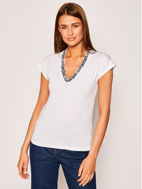 Just Cavalli Just Cavalli T-Shirt S04GC0368 Weiß Regular Fit