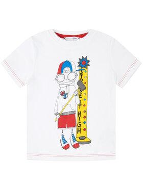 Little Marc Jacobs Little Marc Jacobs Tricou W25414 Alb Regular Fit