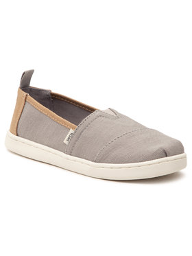 Toms Toms Κλειστά παπούτσια Alpargata 10016437 Γκρι
