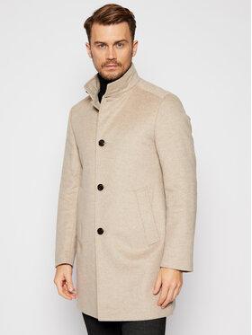 JOOP! Joop! Μάλλινο παλτό 17 JC-21Maron 30022586 Μπεζ Regular Fit