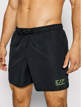 EA7 Emporio Armani EA7 Emporio Armani Plavecké šortky 902051 1P730 00020 Čierna Regular Fit