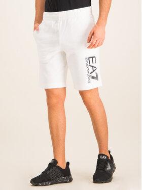 EA7 Emporio Armani EA7 Emporio Armani Sportshorts 3HPS73 PJ05Z 1100 Weiß Regular Fit