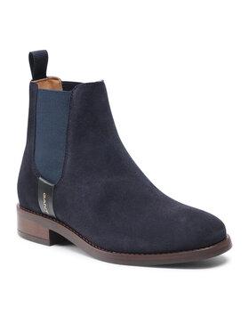 Gant Gant Členková obuv s elastickým prvkom Fayy 23553114 Tmavomodrá
