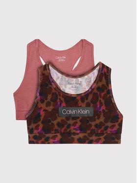 Calvin Klein Underwear Calvin Klein Underwear Komplet 2 biustonoszy Bralette G80G800473 Kolorowy