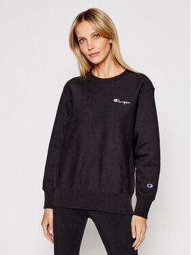 Champion Champion Sweatshirt Small Script Logo 113151 Noir Regular Fit