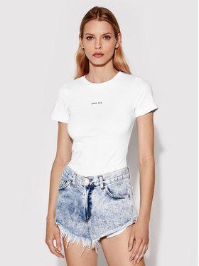 Rage Age Rage Age T-Shirt Astrid 2 Biały Slim Fit