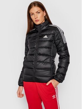 adidas adidas Geacă din puf Essentials GH4593 Negru Slim Fit