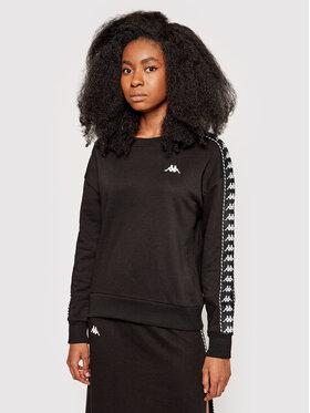 Kappa Kappa Суитшърт Ilary 309068 Черен Regular Fit