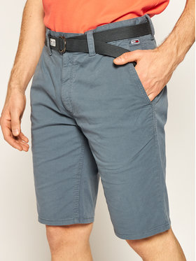 Tommy Jeans Tommy Jeans Pantaloncini di tessuto Vintage DM0DM07932 Grigio Regular Fit