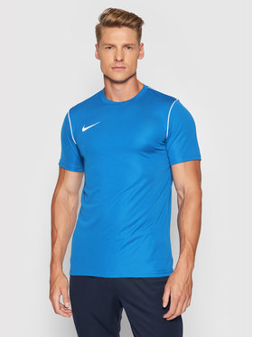 Nike Nike Тениска от техническо трико Dri-Fit BV6883 Син Regular Fit