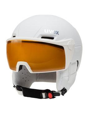 Uvex Uvex Kask narciarski Hlmt 700 Visor 5662371003 Biały