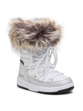 Moon Boot Moon Boot Μπότες Χιονιού Mb Jr Girl Monaco Low Wp 34052400001 M Λευκό