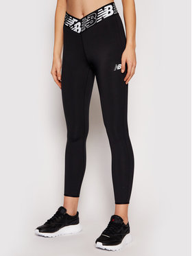 New Balance New Balance Leggings Rlntls NBWP11176 Fekete Slim Fit