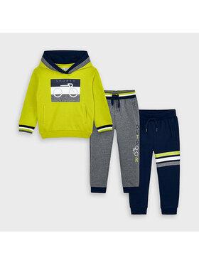 Mayoral Mayoral Ensemble de 2 pantalons de survêtement et sweatshirt 4817 Multicolore Regular Fit