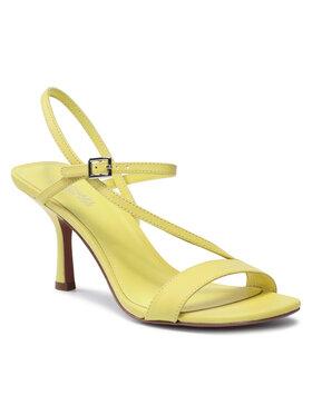 MICHAEL Michael Kors MICHAEL Michael Kors Sandały Tasha Sandal 40SOTAMS1L Żółty