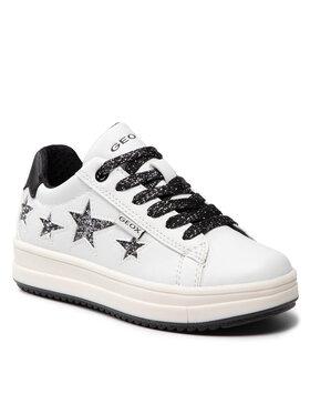 Geox Geox Sneakersy J Rebecca G. B J02BDB 000BC C0404 M Biały