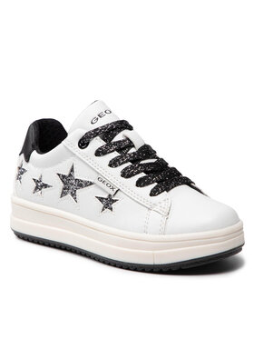 Geox Geox Sneakersy J Rebecca G. B J02BDB 000BC C0404 M Bílá