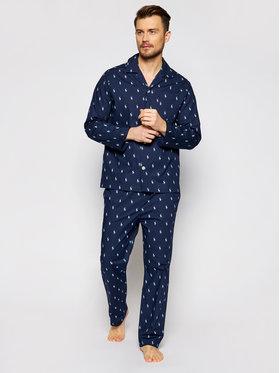 Polo Ralph Lauren Polo Ralph Lauren Pyžamo Sst 714753028009 Tmavomodrá
