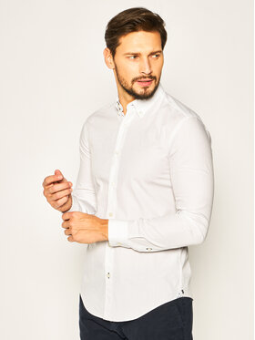Boss Boss Cămașă Rod_53 50426734 Alb Slim Fit
