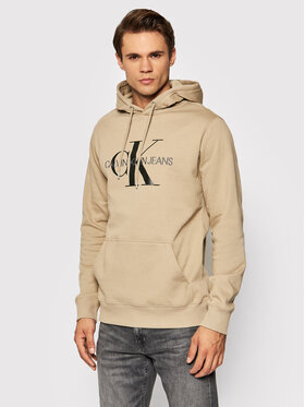 Calvin Klein Jeans Calvin Klein Jeans Mikina J30J314557 Béžová Regular Fit