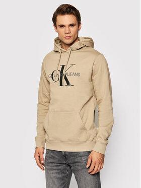 Calvin Klein Jeans Calvin Klein Jeans Sweatshirt J30J314557 Beige Regular Fit