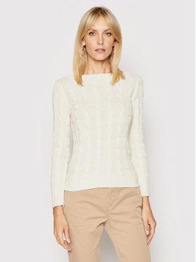 Lauren Ralph Lauren Lauren Ralph Lauren Пуловер 200831469001 Бял Regular Fit