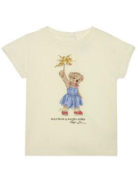Polo Ralph Lauren Polo Ralph Lauren Marškinėliai Summer II 310790444001 Balta Regular Fit