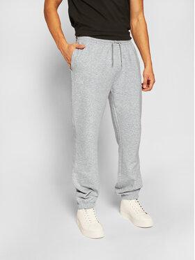 Kappa Kappa Spodnie dresowe Snako 703885 Szary Regular Fit