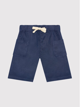 United Colors Of Benetton United Colors Of Benetton Stoffshorts 4AGH59GG0 Dunkelblau Regular Fit