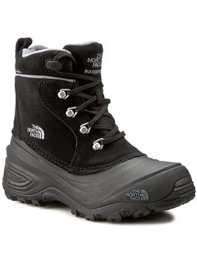 The North Face The North Face Bottes de neige Youth Chilkat Lace II T92T5RKZ2 Noir